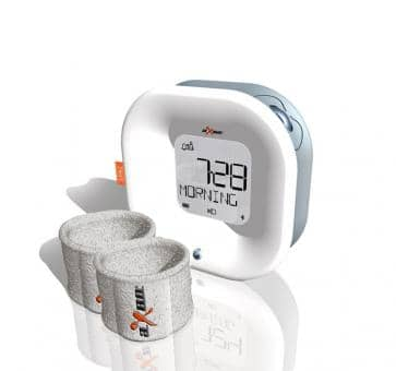 aXbo COUPLE WHITE Sleep Phase Alarm Clock