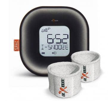 aXbo COUPLE CARBON METALLIC Sleep Phase Alarm Clock