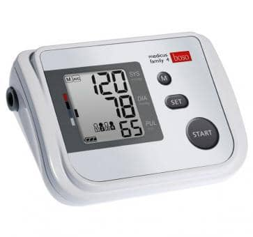 Return boso medicus family 4 upper arm blood pressure monito