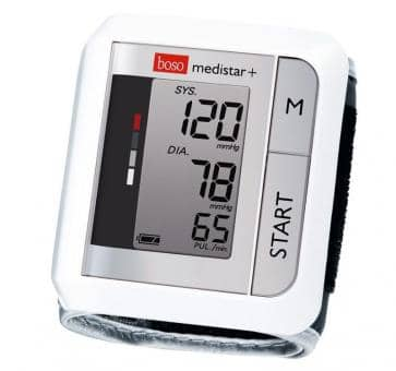 boso medistar+ wrist blood pressure monitor