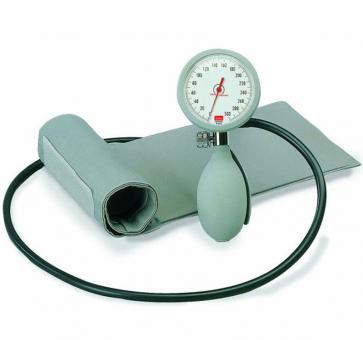 boso K1 Mechanical Blood Pressure Device with Velcro Cuff gray