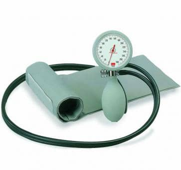 boso K2 Mechanical Blood Pressure Device with Velcro Cuff and Case gray