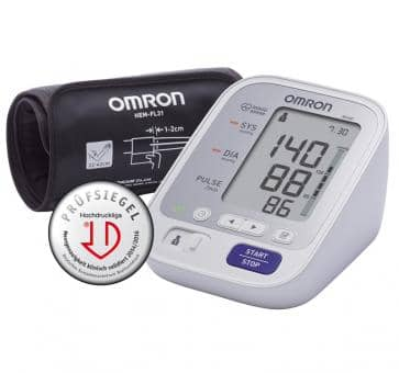 OMRON M400 (HEM-7134-D) with Intelli Wrap Cuff Upper Arm Blood Pressure Monitor