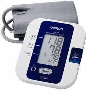OMRON M4 Plus (HEM-7051) Upper Arm Blood Pressure Monitor + Nordic Walking DVD