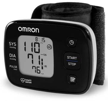 OMRON HG3 Wrist Blood Pressure Monitor (HEM-6140-D)