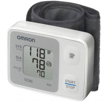 Return OMRON RS2 (HEM-6121-D) Wrist blood pressure monitor