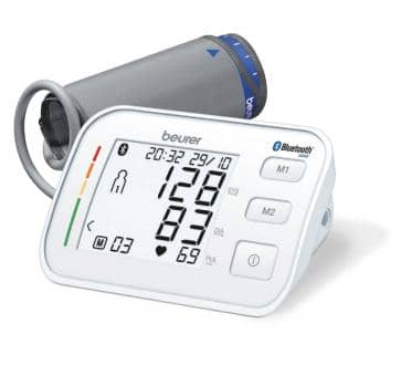 beurer BM 57 Bluetooth Upper Arm Blood Pressure Monitor
