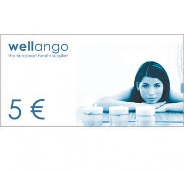 Gift certificate, 5.- Euro