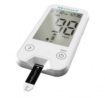 Medisana MediTouch 2 Blood Glucose Monitor West Edition (mg/dL)