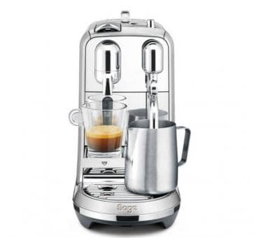 Sage The Creatista Plus Nespresso Machine Geborsteld Alumini
