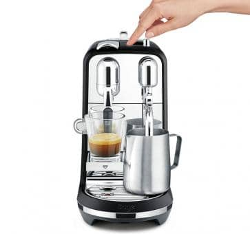 Sage The Creatista Plus Nespresso Machine Zwart