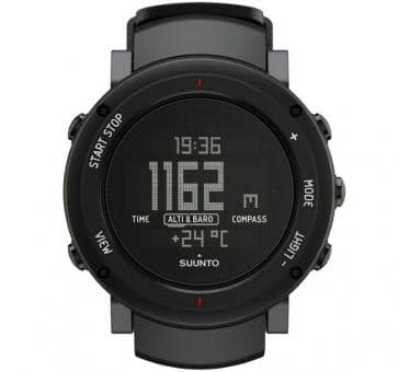 Suunto Core Alu Deep Black Sport Watch