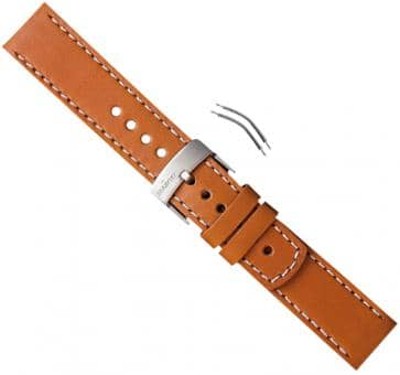 Suunto Elementum Ventus Brown Leather Strap Kit