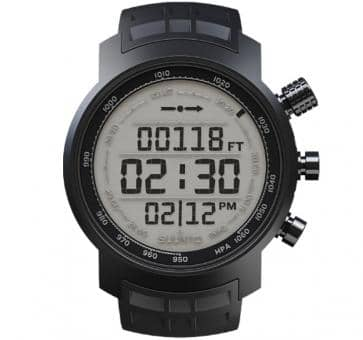 Suunto Elementum Terra Black Rubber/Light Display Sport Watc