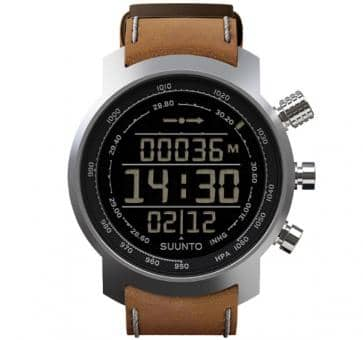 Suunto Elementum Terra Brown Leather Sport Watch