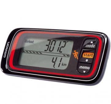 Return OMRON Jog Style Activity monitor (HJA-300-E) black