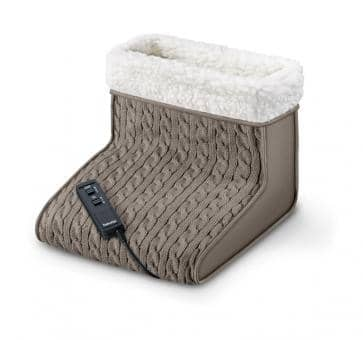 beurer FWM 45 Massage Foot Warmer with Knit Top